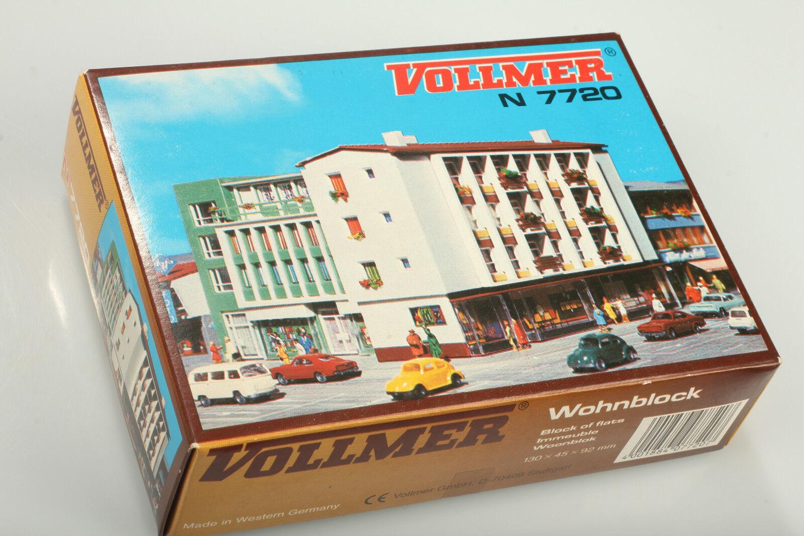 N Vollmer 7720 Immeuble D'Habitation - Emballage D'Origine Etait mais Ougreen