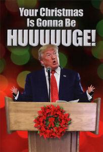Huge Christmas Card.Details About Trump Huge Humorous Funny Nobleworks Christmas Card