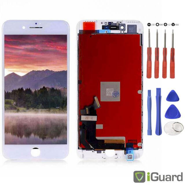 LCD Display für iPhone 7 4,7 RETINA Weiss Glas Scheibe Bildschirm Touch NEU