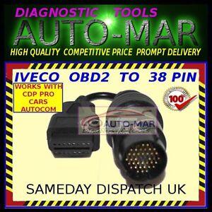 WURTH DELPHI ECLIPSE IVECO TRUCK Diagnostic Cable 30 PIN Connector AUTOCOM