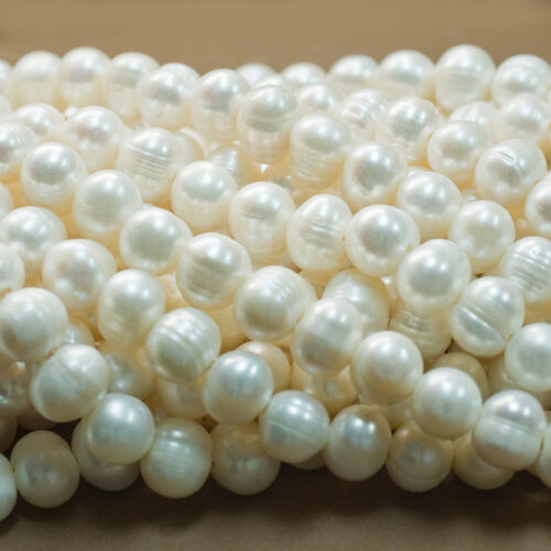 "All Sizes Freshwater Pearls 14/"" Strand Larger Hole Drilled Large Hole Pearls"