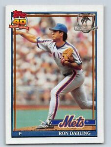 Details About 1991 Ron Darling Topps Desert Shield Baseball Card 735 New York Mets