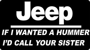 YEAH IT/'S A CHEVY IF I WANTED A HUMMER I/'D CALL YOUR MOTHER funny car decal