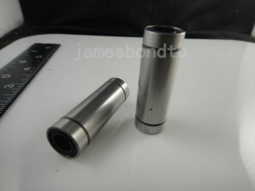 2pcs LM20LUU 20mm Long Linear Motion Bearing Ball Bushing 20x32x80mm CNC Parts