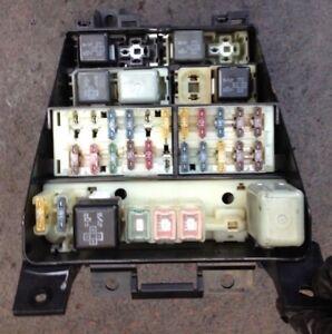 toyota lucida estima emina 90 00 interior dash fuse box 2 ebay rh ebay co uk Toyota Previa Van Stima Toyota