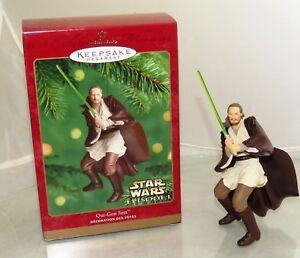 Hallmark Keepsake Christmas Ornament 2000 Star Wars Episode 1 Qui-Gon Jinn 2017410569407