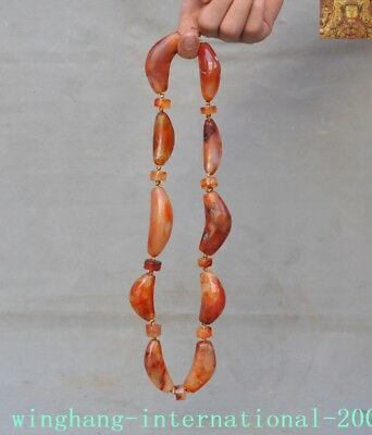 Collection Here China Natural Formation Agate Carved Exorcism Amulet Periapt Necklace Bracelets