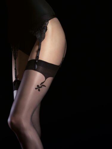Seductive Fiore Obsession Charlize Designer Stockings 20 Den Suspender Stockings