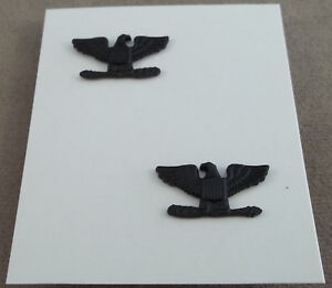 Aviation Us Air Force Rotc Bdu Vintage Rank Insignia Lieutenant Colonel Nos Pair Transportation