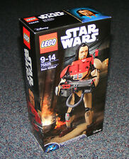 LOT OF 2 Lego Constraction Star Wars Buildable Figures Baze Malbus 75525
