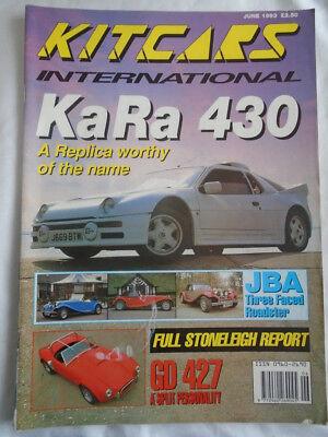 Kit Cars International Jun 1993 Kara 430 Jba Roadster Gd 4272