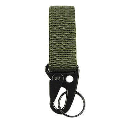 Hot Military Nylon Webbing MOLLE Buckle Key Hook Hanging Clip Hook Carabiner 1PC
