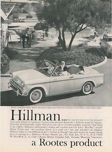 1959-Hillman-Convertible-Auto-Ad-Rootes-Motors-Canada-Canadian-Car-Vintage-Retro