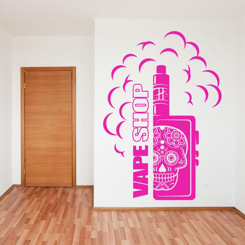 Vape Shop Wandaufkleber Vaping Grafiken Zitat Aufkleber Kunst vp13