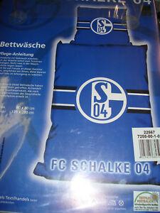 Bettwäsche Fc Schalke 04 Schalke 04 Fussball Fanartikel Ebay
