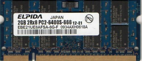 NEW 2GB HP Compaq Mini-Note 1010NR//1030NR Netbook//Notebook DDR2 RAM Memory