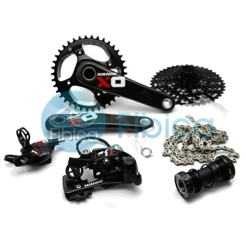 New SRAM X01 1x11-speed Carbon Mountain Type 2 Groupset Group Trigger Red