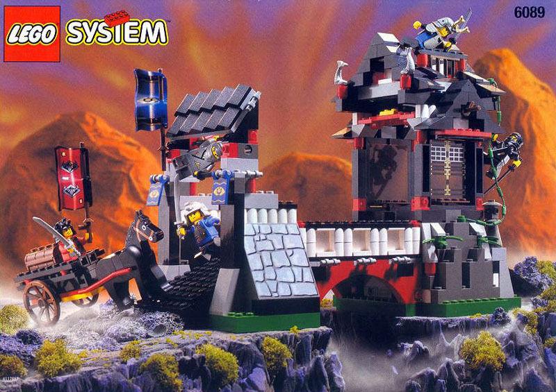 LEGO Castle NINJA 6089 Stone  Tower Bridge NEUF Scellé navires World grand  articles de nouveauté