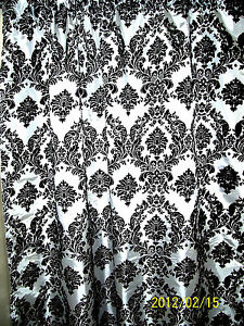 High Quality Image Is Loading Damask Curtain 5 X 9 Ft Backstage Photography