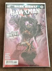 HAWKMAN-FOUND-1-DC-Comics-DARK-NIGHTS-METAL-TIE-IN-Foil-Cover-MYSTERY-Revealed
