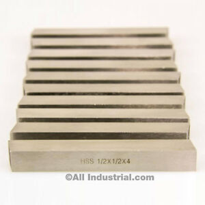 1//2/'/' x 1//2/'/' x 4/'/' HSS Square Tool Bit Lathe Fly Cutter Mill Blank