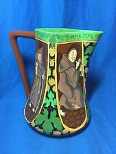 Shelley Wileman Foley Intarsion pottery Monks pitcher Rhead design