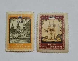 TIMBRES-TCHECOSLOVAQUIE