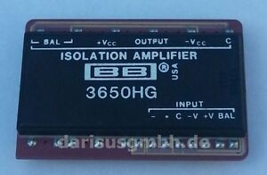 1-pc-BB3650HG-3650HG-Isolation-Amplifier-CDIP-Burr-Brown-NEW