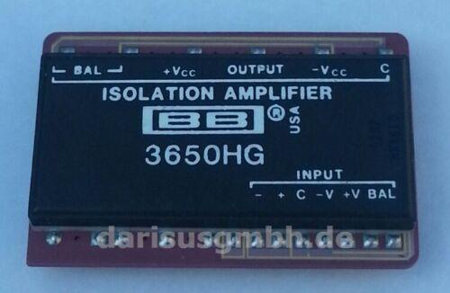 bb3650hg 3650hg isolamento amplifier CDIP Burr Brown New 1 PC