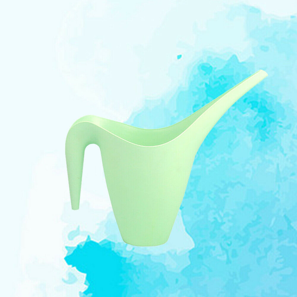 1pc Watering Can Plastic 1.8L Elegant Flower Gardening Tool for Indoor