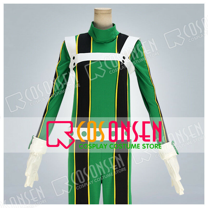 Boku no Hero Academia Asui Tsuyu Jumpsuits Cosplay Suit COS My Hero Academia