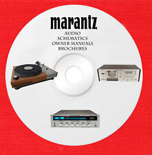 Marantz Service and owner manuals on 1 dvd in pdf format