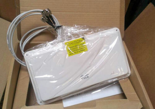 CISCO AIR-ANT5160NP-R 5GHz 6DBI 802.11N MIMO PATCH DIRECTIONAL ANTENNA RP-TNC