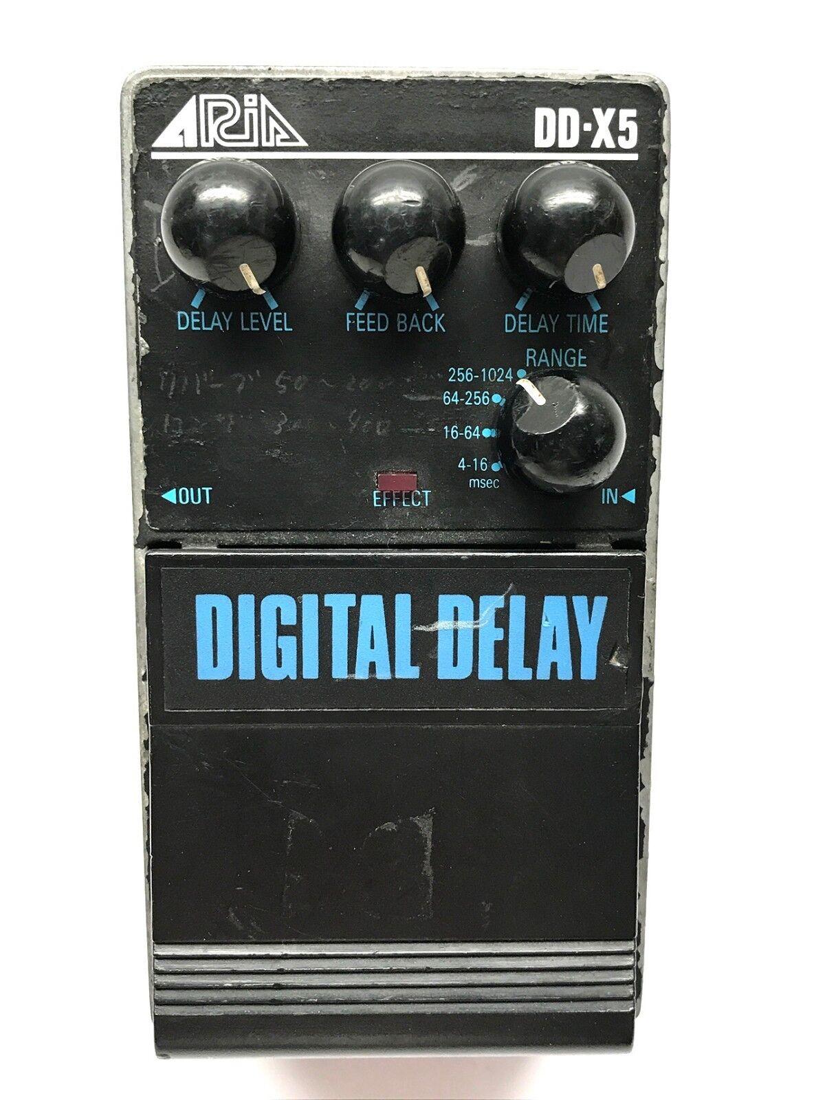 Aria DD-X5, Digital Delay, Pro II Series 5 1985-late 80's, Made In Japan Vintage