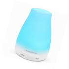 InnoGear MT-039 100ml Aromatherapy Essential Oil Diffuser with 7-Color LED Lights  – White