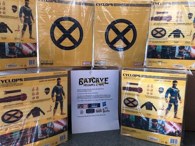 Mezco Juguetes ONE 12 colectivo Cíclope de X-men 6 Pulgadas Figura De Acción  nuevo  Preventa