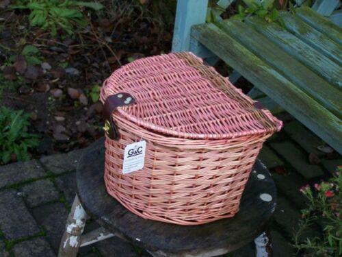 WICKER BIKE BASKET EASY FIT JUST HOOK ON AND GO BUY 2 GET 2ND 50% OFF