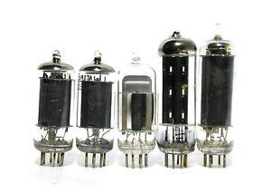 AA5-All-American-Five-Tube-Set-Used-Tested-12AV6-12BA6-12BE6-35W4-50C5-Crosley