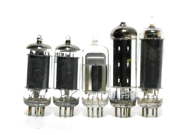 AA5 All American Five Tube Set Used Tested++ 12AV6 12BA6 12BE6 35W4 50C5 Crosley