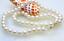 AAA 6.5-7mm rond blanc Akoya Perles Collier 14k
