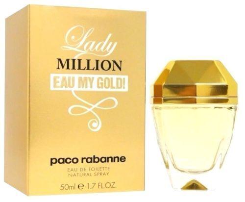 LADY MILLION EAU MY GOLD 50ML EDT WOMEN NEW IN BOX.