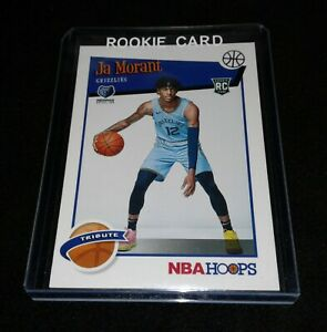 2019-20-Panini-NBA-Hoops-Ja-Morant-Rookie-Tribute-RC