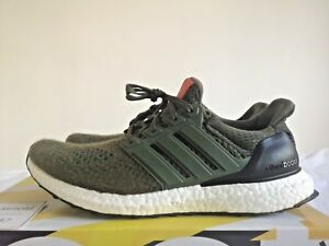 6a519a8bfe9 Image is loading adidas-Ultra-BOOST-1-0-Olive-AF5837-UK8-