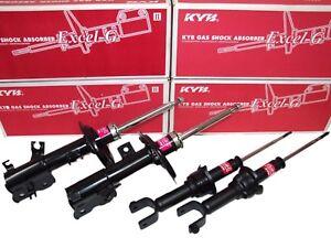 PAIR KYB EXCEL-G Rear Shocks For VOLVO C30 S40 V50