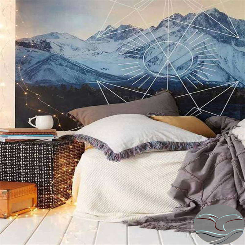 Winding Mountains 3D Full Wall Mural Photo Wallpaper Printing Home Kids Decor