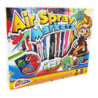 Grafix Air Spray Markerz Arts and Crafts Gift Set Boys Girls Creative Activity