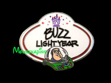 Toy Story BUZZ Lightyear - NAME BADGE  Disneyland HK 2010 Disney Mystery Pin
