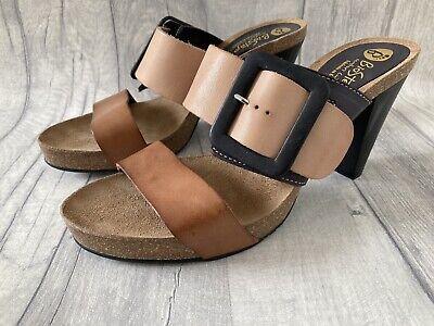 biostep leopard sandals