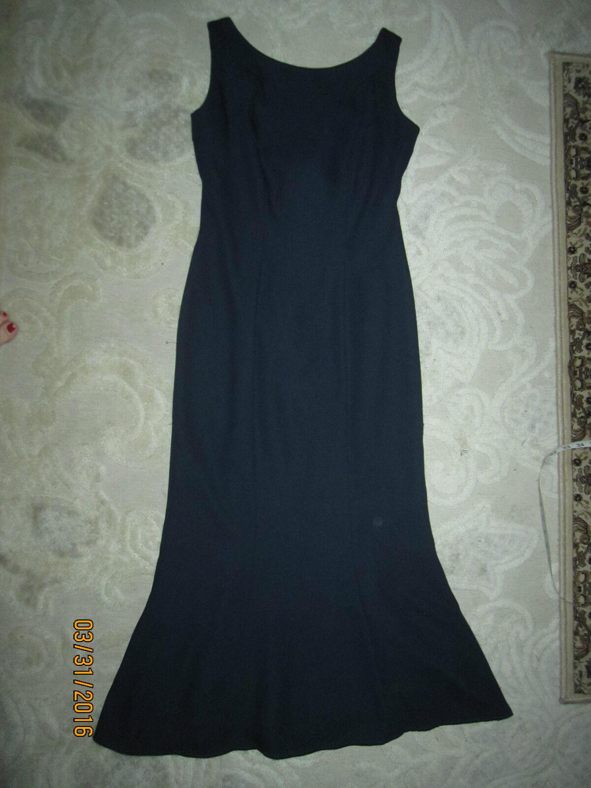 b128f9516da Watters   Watters brand navy bluee sleeveless formal long dress ...