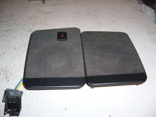 Volvo 940 740 Pair of Dashboard Speakers Grills